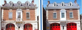 Cleveland Park Firehouse Before and After