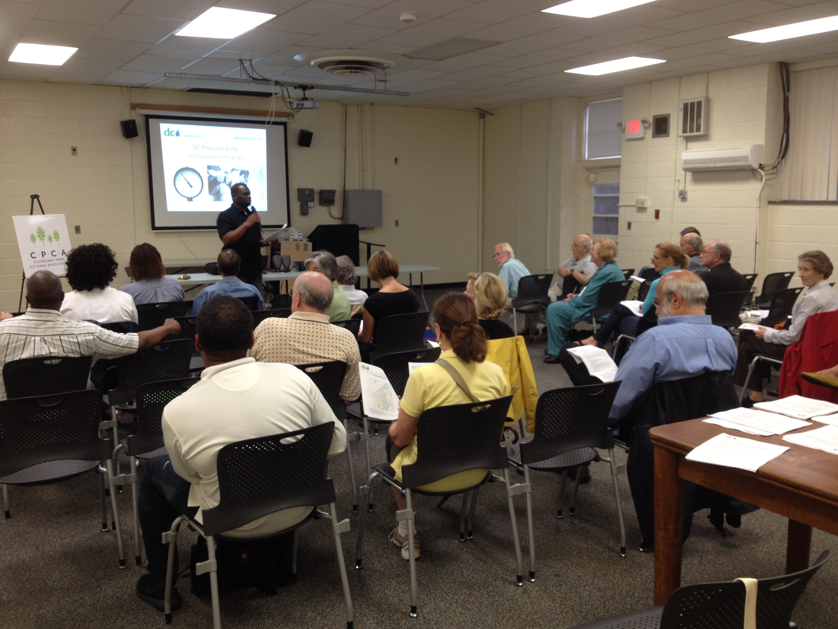 May 15 Community Meeting